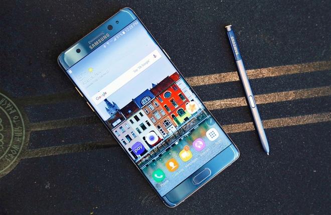 Samsung ban Note 7 tan trang anh 1
