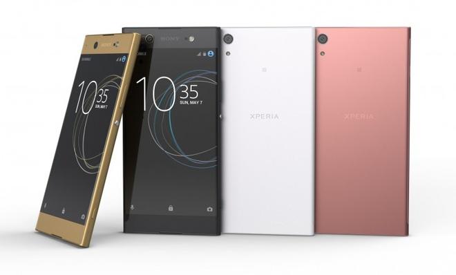 Sony ra mat Xperia XA1 va XA1 Ultra voi camera 23 cham hinh anh
