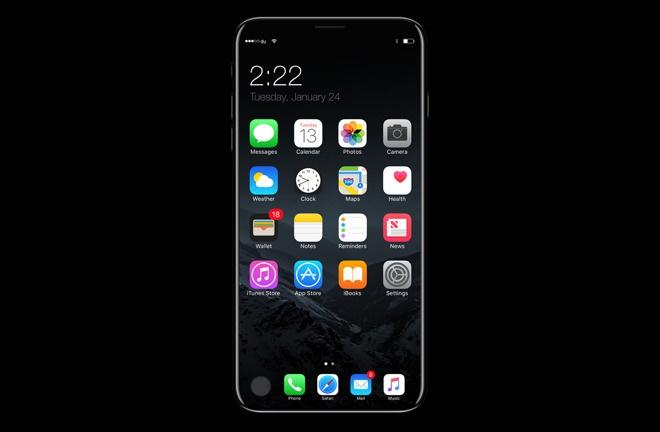 Bao Nhat: iPhone 8 ban 5,8 inch dung man hinh OLED hinh anh 1