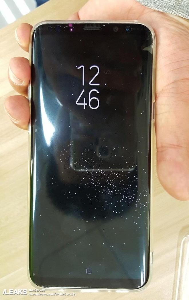 Hinh anh Samsung Galaxy S8 voi phim Home moi hinh anh 1