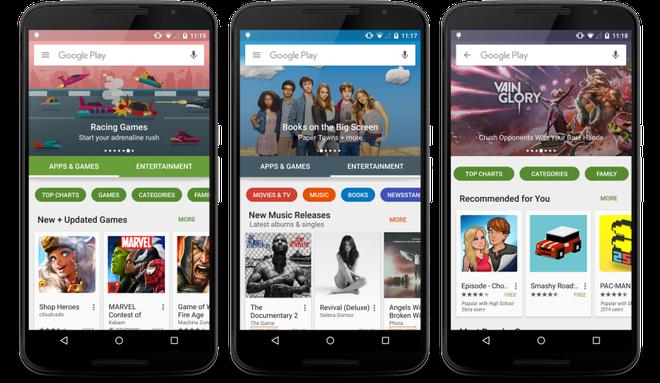 Hanh trinh tu Android Market den Google Play cua Google hinh anh 2