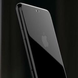 Mat kinh tren iPhone 8 duoc lam giong Galaxy S6 Edge hinh anh