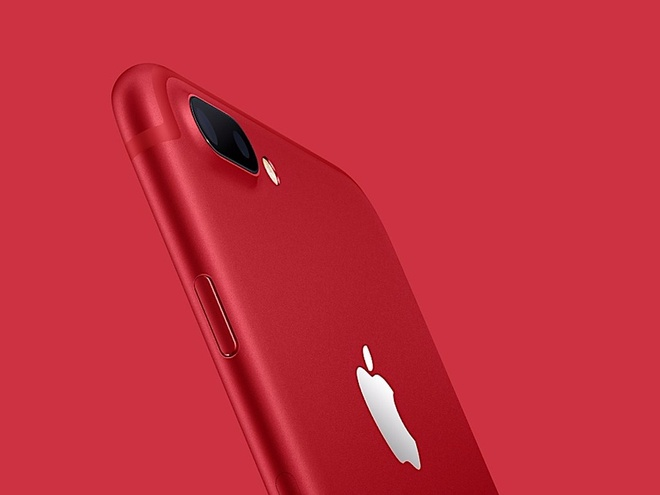 Apple gioi thieu iPhone 7 red anh 1