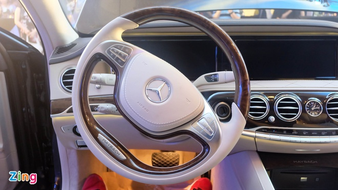 Mercedes-Maybach S400 tai Viet Nam anh 10