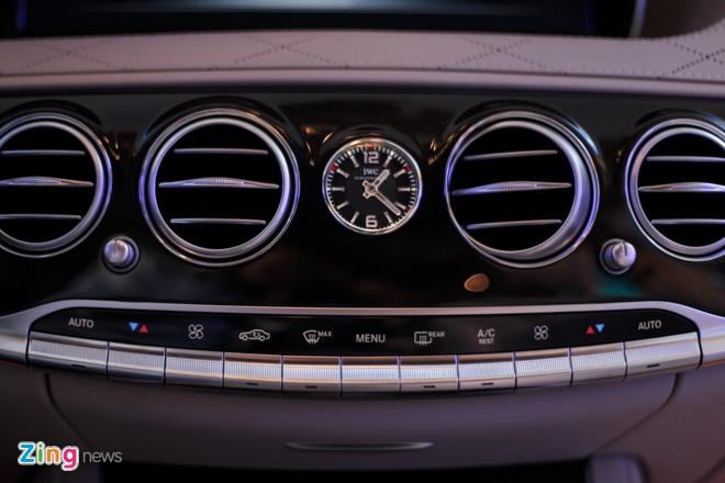 Mercedes-Maybach S400 tai Viet Nam anh 13