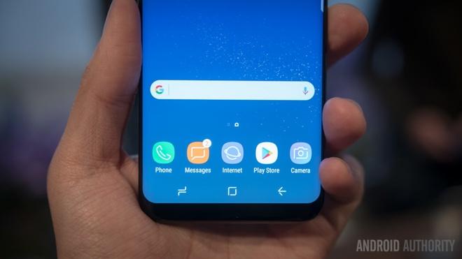 Samsung khai tu nut Home tren Galaxy S8 anh 1