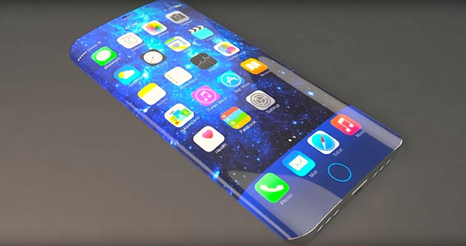 'iPhone 8 chac chan co man hinh OLED cong' hinh anh 1