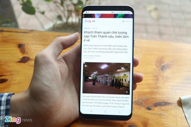 Anh Galaxy S8+ dau tien tai Viet Nam hinh anh 1