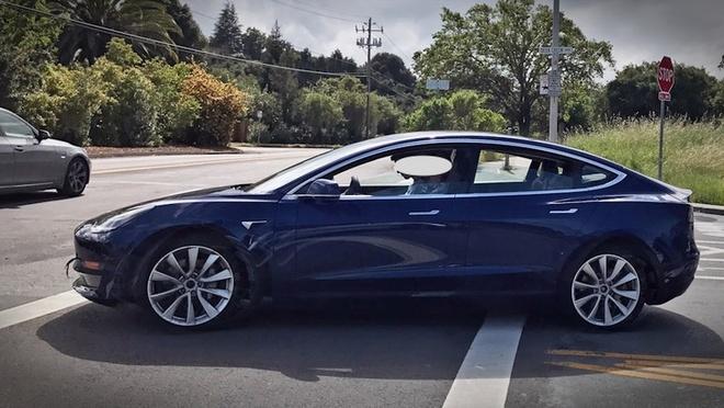 Tesla Model 3 chay thu nghiem anh 2