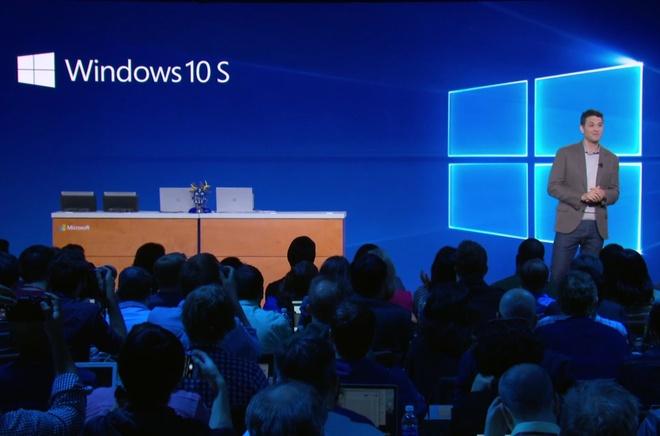 He dieu hanh Windows 10 S cam trinh duyet Google Chrome hinh anh