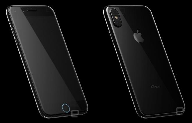 Thiet ke tho cua iPhone 8 voi mat lung bang kinh anh 5