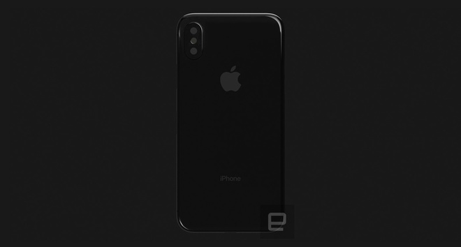 Thiet ke tho cua iPhone 8 voi mat lung bang kinh anh 4
