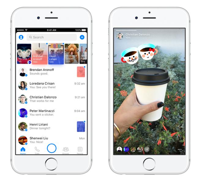 Nhung lan Facebook 'vay muon' y tuong tu doi thu Snapchat hinh anh 5