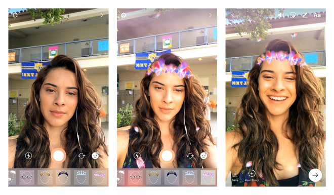 Nhung lan Facebook 'vay muon' y tuong tu doi thu Snapchat hinh anh 6