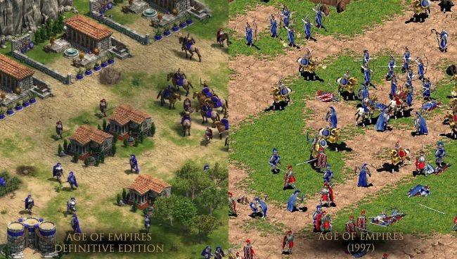 Ban goc Age of Empires duoc nang cap do phan giai 4K hinh anh