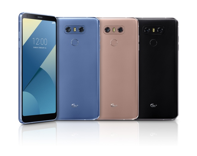 LG G6+ xuat hien lung linh trong video clip moi nhat hinh anh 1
