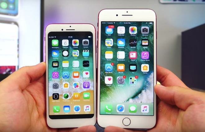 Chua ra mat, iPhone 8 da xuat hien hang nhai hinh anh
