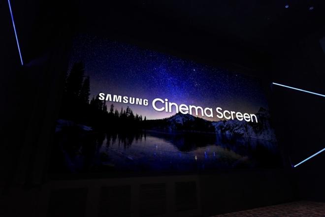 Samsung muon thay the may chieu phim bang man hinh 4K dai 10 met hinh anh
