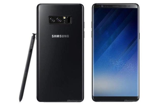Galaxy Note 8 se co mau sac moi tuyet dep hinh anh