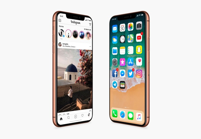 Lo anh iPhone X tuyet dep truoc gio ra mat hinh anh 1