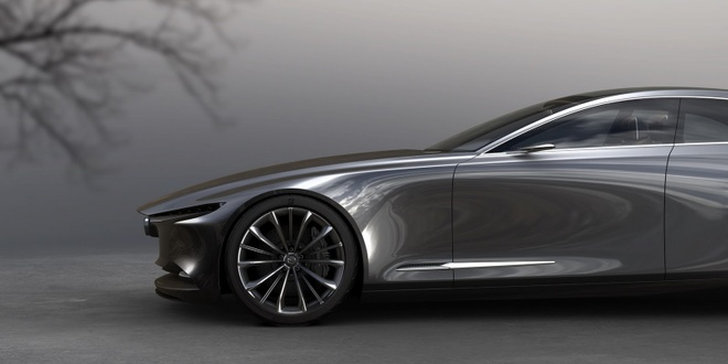 Mazda trinh lang Vision Coupe concept anh 2