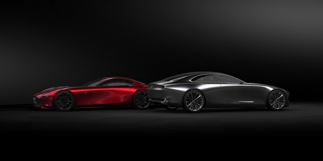 Mazda trinh lang Vision Coupe concept anh 1
