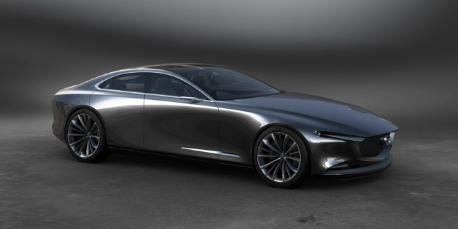 Mazda trinh lang Vision Coupe concept anh 4