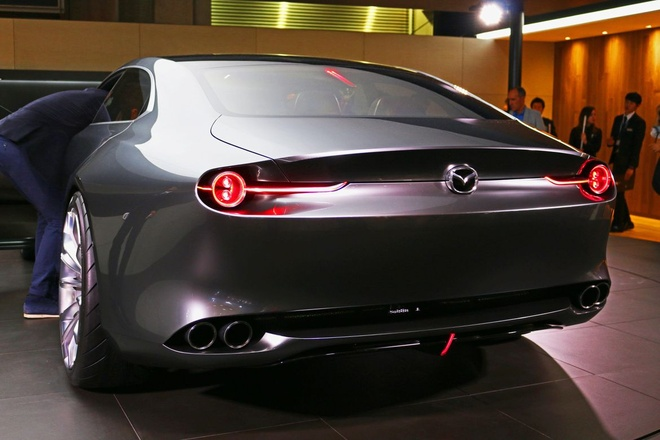 Mazda trinh lang Vision Coupe concept anh 9