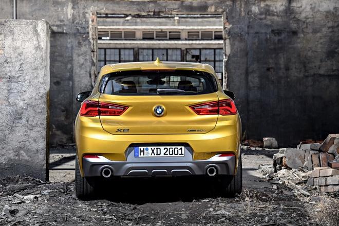 BMW ra mat crossover hang sang X2 hoan toan moi hinh anh 14