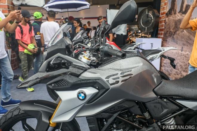 Moto viet da BMW G310GS ra mat tai chau A hinh anh 8