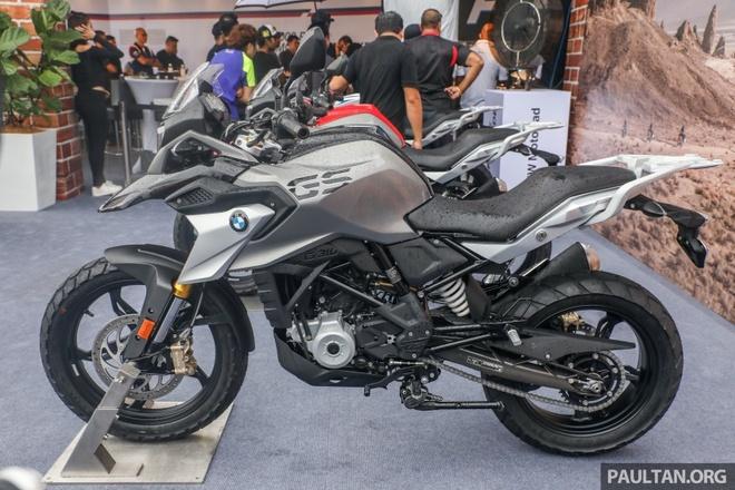 Moto viet da BMW G310GS ra mat tai chau A hinh anh 4