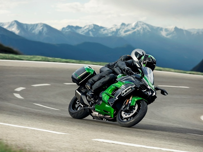 Kawasaki Ninja H2 SX - chiec sport-touring