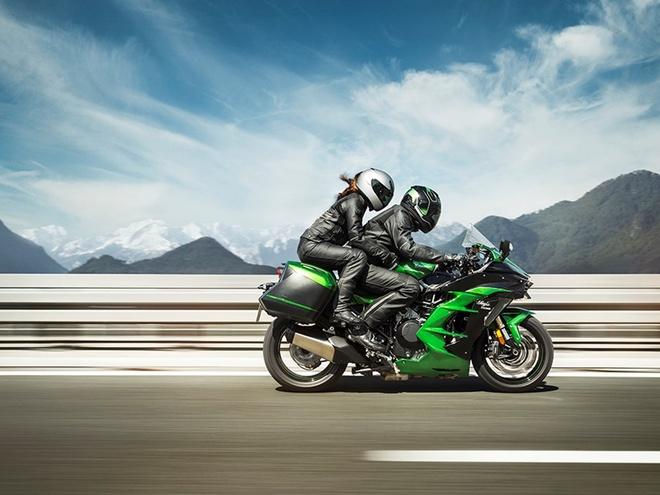 Kawasaki Ninja H2 SX - sport-touring toi cao trong phan khuc hinh anh 1