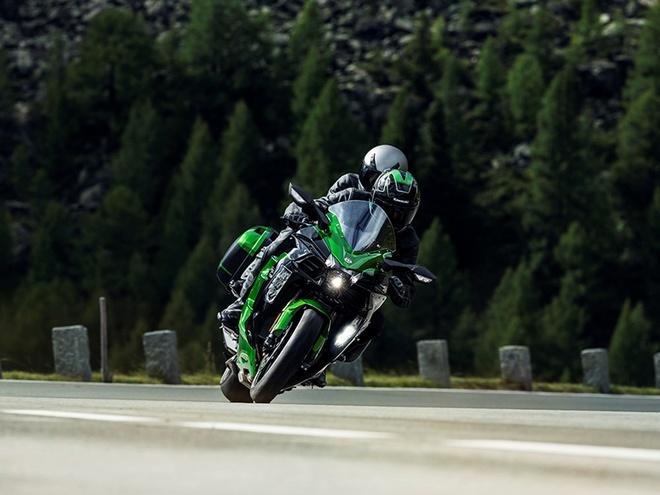 Kawasaki Ninja H2 SX - sport-touring toi cao trong phan khuc hinh anh 4