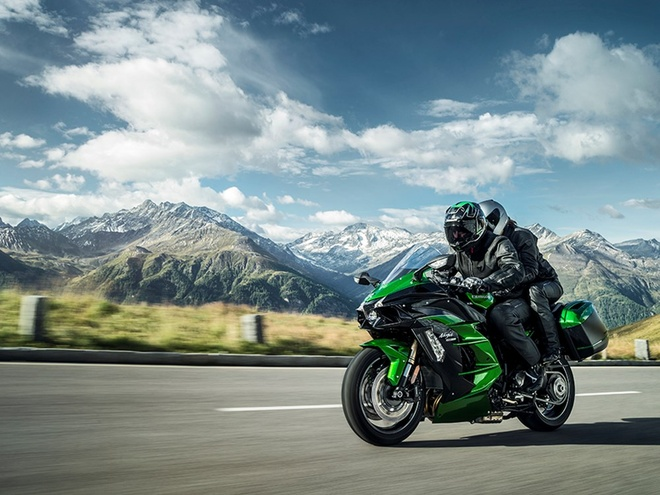 Kawasaki Ninja H2 SX - sport-touring toi cao trong phan khuc hinh anh