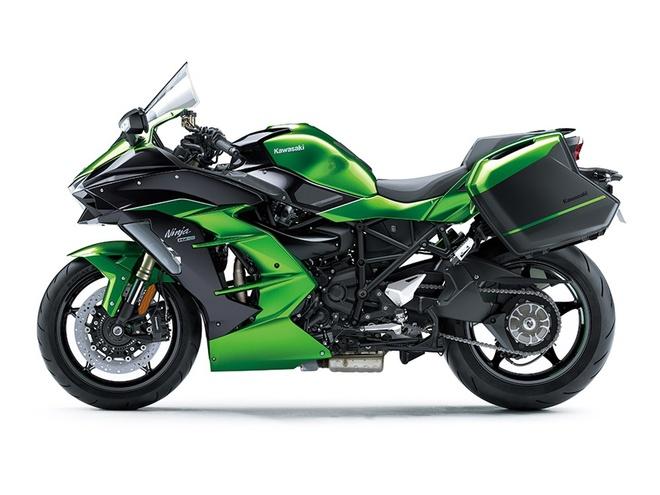Kawasaki Ninja H2 SX - sport-touring toi cao trong phan khuc hinh anh 3