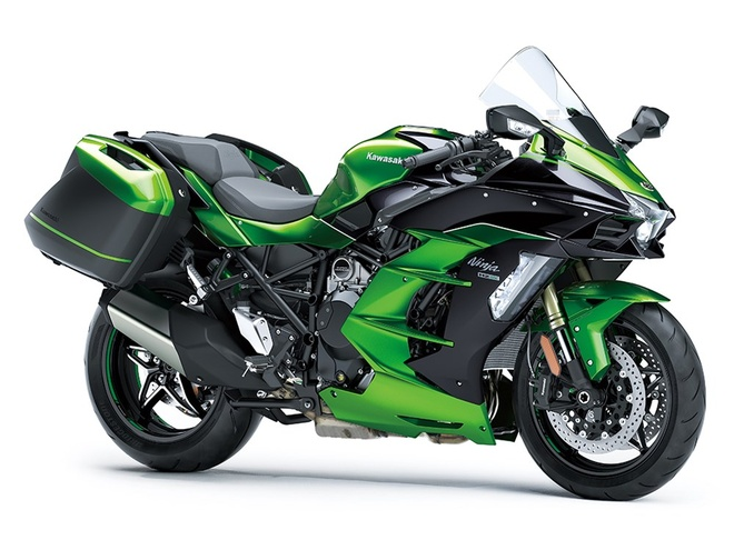 Kawasaki Ninja H2 SX - sport-touring toi cao trong phan khuc hinh anh 2