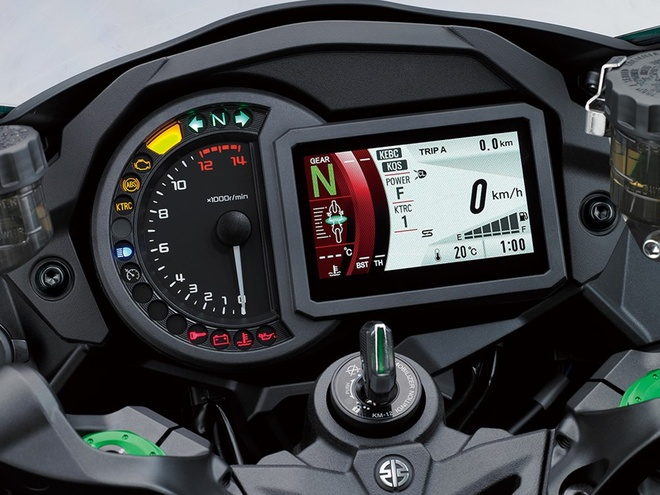 Kawasaki Ninja H2 SX - sport-touring toi cao trong phan khuc hinh anh 5