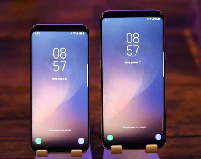 Samsung Galaxy S8/S8+ nhan giai smartphone cua nam hinh anh