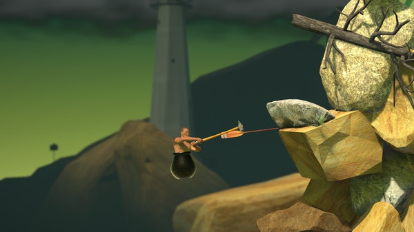 Getting Over It: Game gay uc che tam ly dang gay sot hinh anh 1
