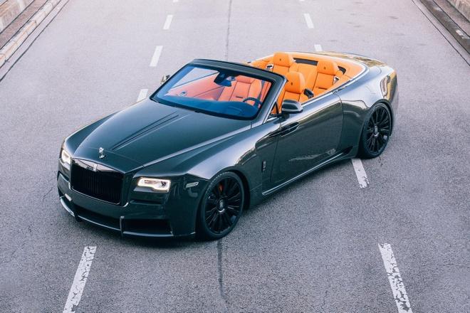 Rolls-Royce Dawn khac la voi goi do co bap hinh anh 3