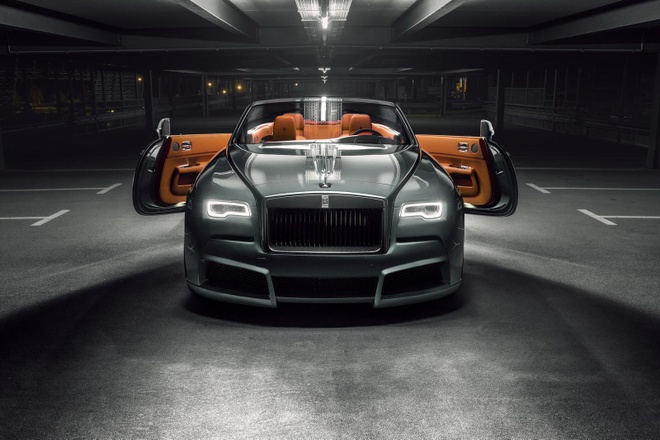 Rolls-Royce Dawn khac la voi goi do co bap hinh anh 1