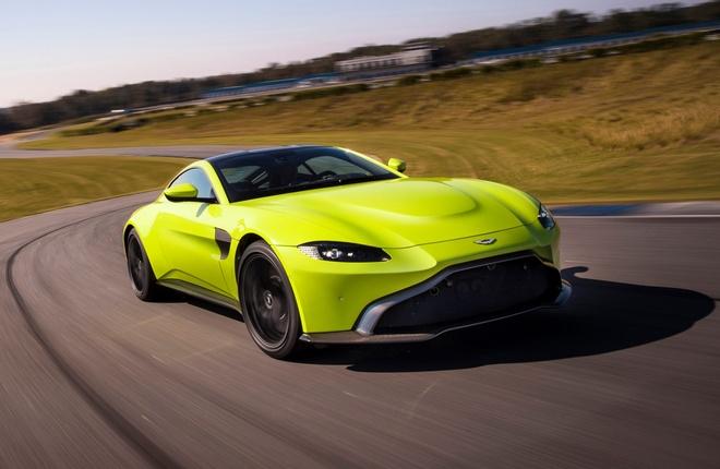 Aston Martin Vantage 2018 ra mat hinh anh