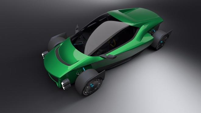 Sieu xe dien Dai Loan thach thuc Tesla Roadster hinh anh