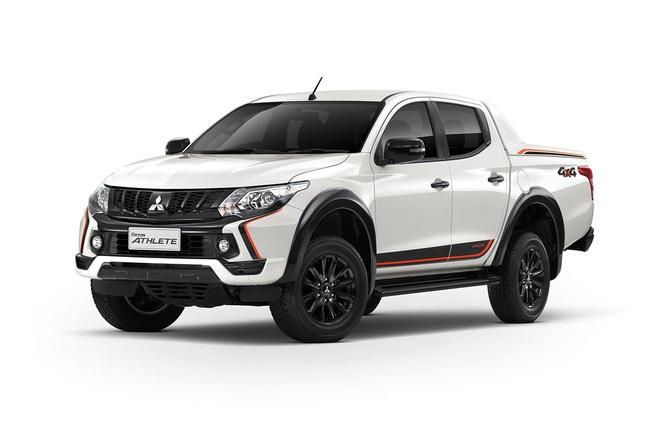 Mitsubishi Triton Athlete, doi thu cua Ford Ranger Wildtrak sap ra mat hinh anh 1