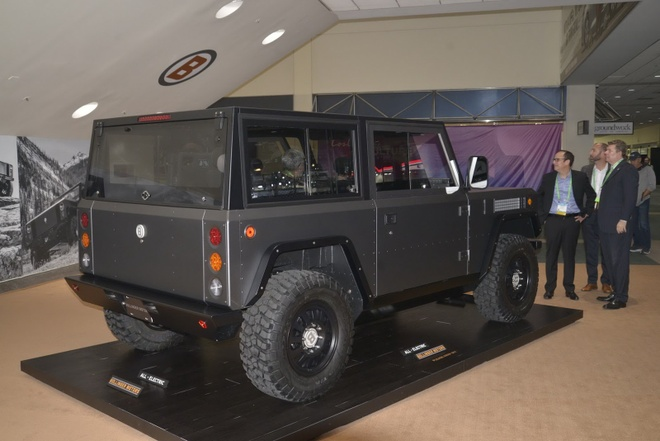 Bollinger B1 - xe off-road chay dien dau tien tren the gioi hinh anh 2