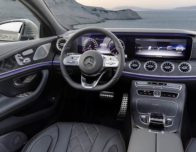 Mercedes CLS 2018 chinh thuc ra mat anh 7