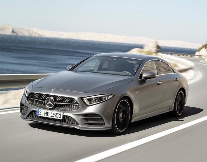Mercedes-Benz CLS 2018 ra mat hinh anh