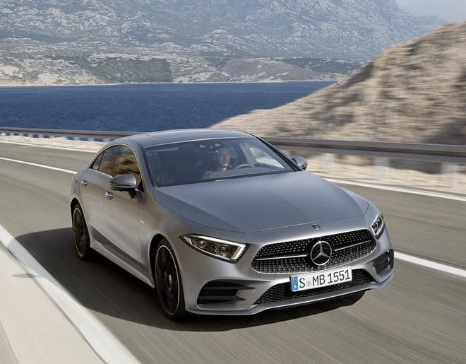 Mercedes CLS 2018 chinh thuc ra mat anh 1