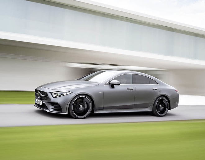Mercedes CLS 2018 chinh thuc ra mat anh 2